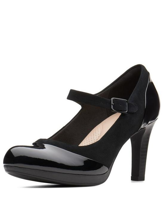 8b007df8234 Adriel Carla Heeled Mary Jane Shoe - Black