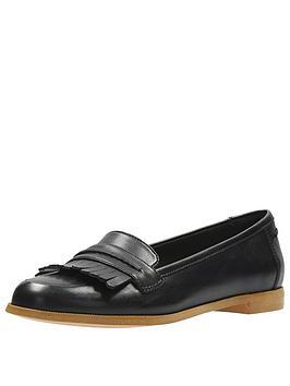 Clarks Andora Crush Loafer - Black