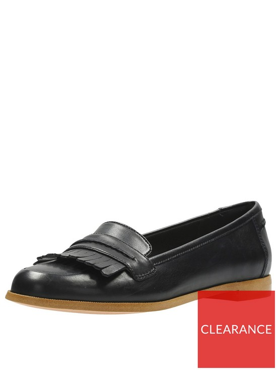 323fbf5f04b6e3 Clarks Andora Crush Loafer - Black