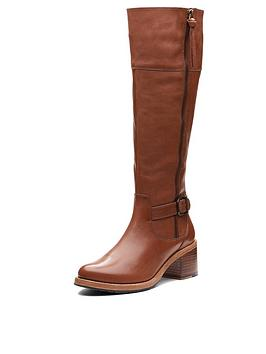 Clarks Clarkdale Sona Knee High Boot