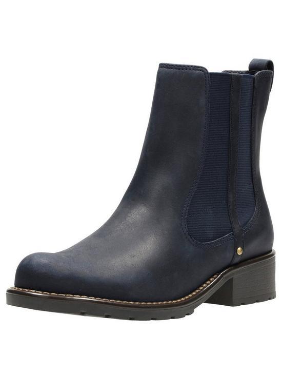 02189613ba4 Orinoco Club Chelsea Ankle Boot - Navy