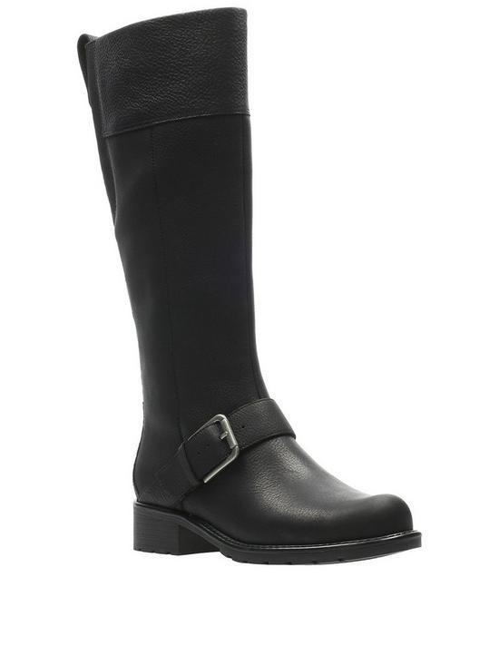 8c02be21a89 Orinoco Jazz Knee High Boots - Black