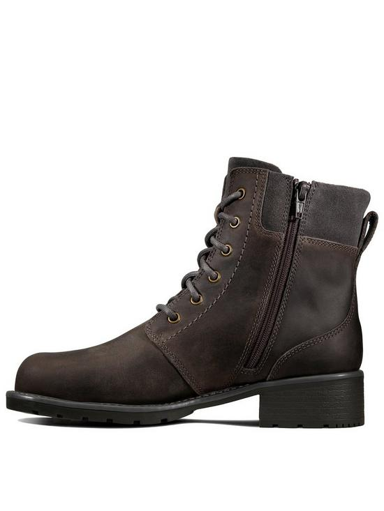 5a3de9f68d78e Clarks Orinoco Spice Lace Up Ankle Boot - Grey