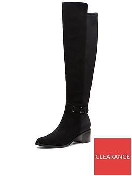 clarks-poise-orlanbspsuede-knee-high-boot-black