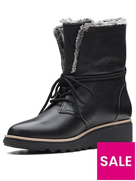 clarks-sharon-pearl-lace-up-calf-boot-black