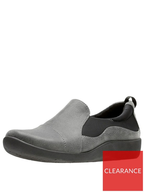 87ddf24c594b1 Clarks Sillian Paz Slip On Shoe - Grey