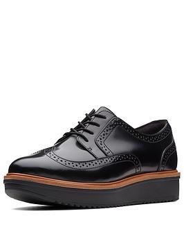 clarks-teadale-maira-brogue-shoe-black