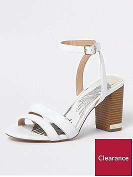 river-island-river-island-wide-fit-block-heel-sandals--white