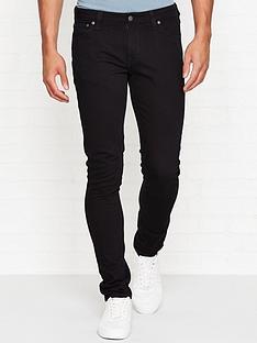 nudie-jeans-skinny-lin-tightnbspfit-jeans-black