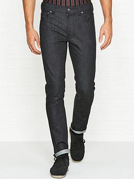 nudie-jeans-lean-dean-slim-fit-dry-deep-dark-comfort-jeans-black