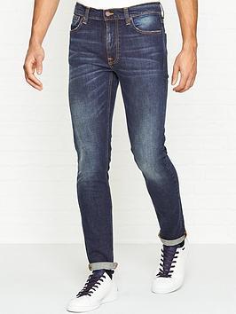 nudie-jeans-lean-dean-slim-fit-dark-blues-jeans-blue