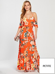 v-by-very-petite-cold-shoulder-jersey-maxi-dress-floral-print