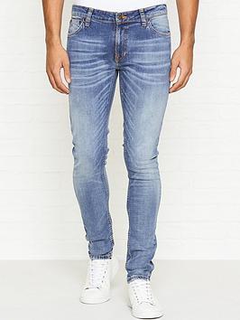 nudie-jeans-skinny-lin-slowly-worn-wash-jeansnbsp--blue