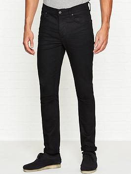 nudie-jeans-lean-dean-slim-fit-tapered-jeans-black