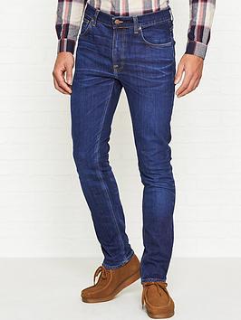nudie-jeans-lean-dean-slim-fit-tapered-jeans-blue