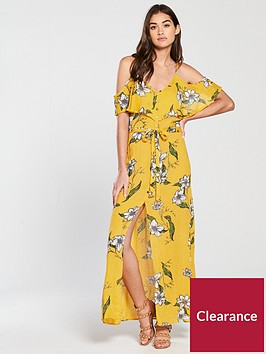 river-island-river-island-floral-maxi-dress--yellow-print