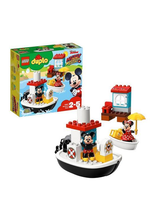 Lego Duplo 10881 Mickeys Boat Verycouk