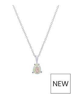 accessorize-sterling-silver-swarovski-teardrop-necklace