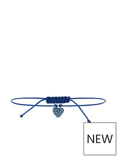 accessorize-sterling-silver-swarovskireg-friendship-bracelet-navy