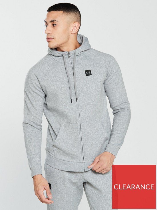 583190289a8b UNDER ARMOUR Rival Fleece Full Zip Hoodie