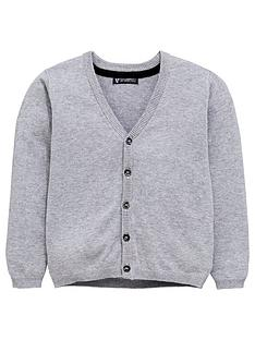 mini-v-by-very-grey-knitted-cardigan