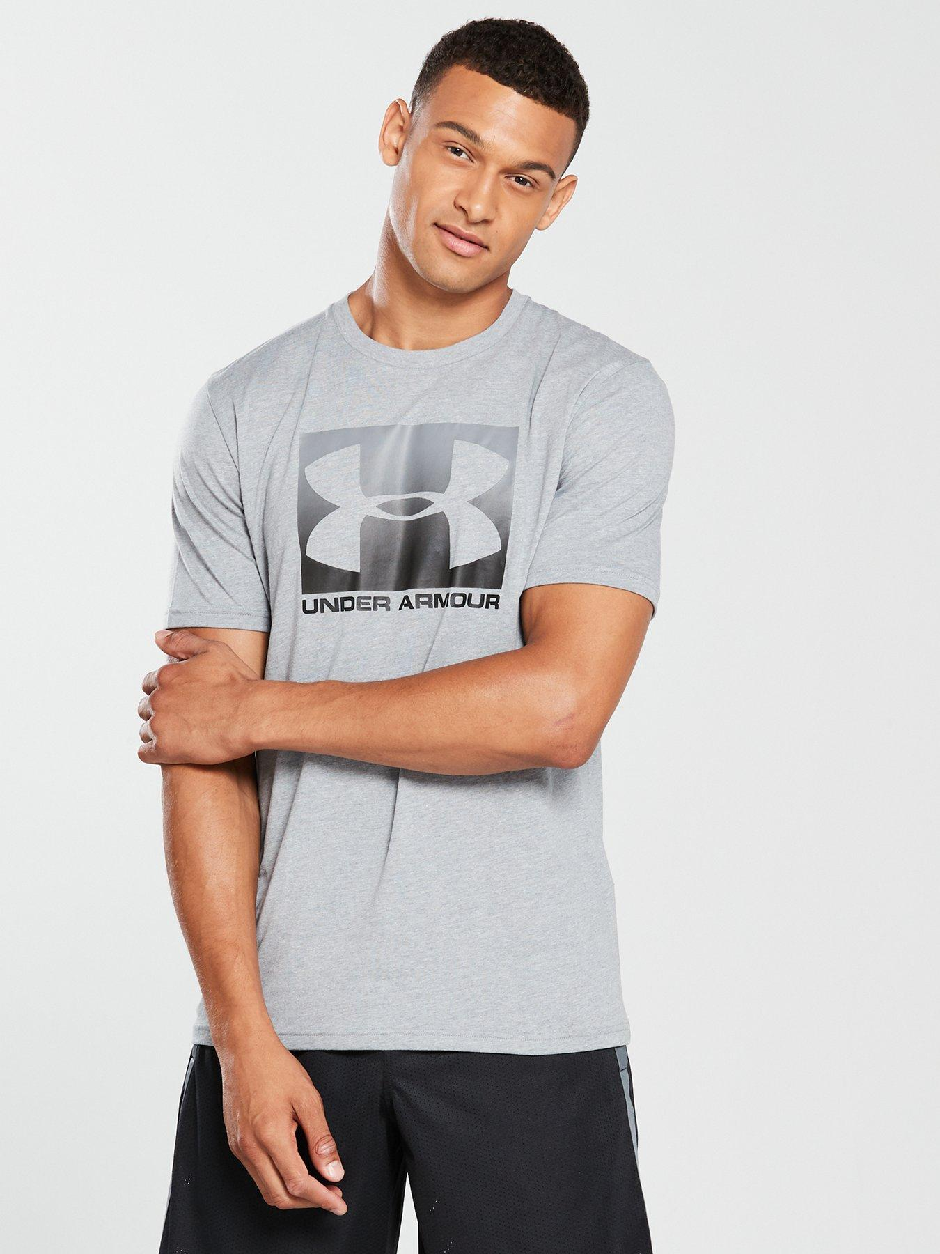 NEW Kids Youth Boys Under Armour UA heatgear Try Another Sport White Tee Shirt