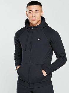 under-armour-rival-fleece-full-zip-hoodie-black