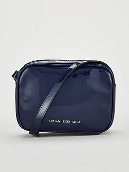 armani-exchange-patent-faux-leather-small-crossbody-bag-blue
