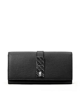 boss-veronika-black-leather-purse