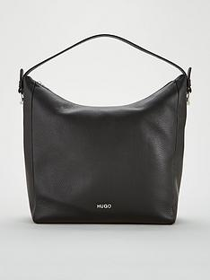 hugo-mayfair-hobo-leather-black-bag