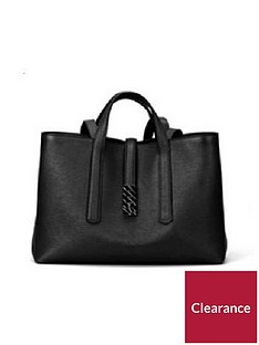 boss-veronika-leather-black-tote-bag