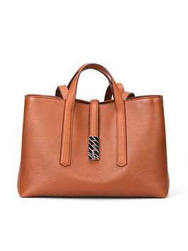 boss-veronika-leather-tan-tote-bag
