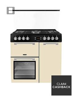 leisure-cc90f531c-90cm-chefmaster-dual-fuel-range-cooker-with-optional-connection-cream