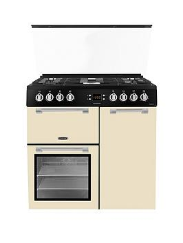 Leisure Cc90F531C 90Cm Chefmaster Dual Fuel Range Cooker - Rangecooker Only Best Price, Cheapest Prices