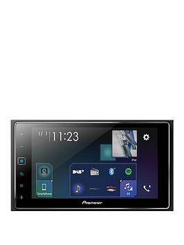 pioneer-sph-da130dab-2-din-62-inch-touchscreen-multimedia-player-with-smartphone-connectivity-via-usb-cable-supporting-apple-carplay-dabdab