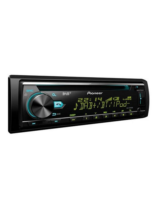 Pioneer Deh X7800dab Car Stereo With Dab Tuner Cd Usb And Aux In Supports Bluetooth Ipod Iphone Direct Control Android Media Accesixtrax