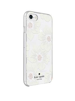 kate-spade-new-york-new-york-protective-hardshell-case-for-iphone-8-iphone-7-amp-iphone-66s-hollyhock-floral-clearcream-with-stones