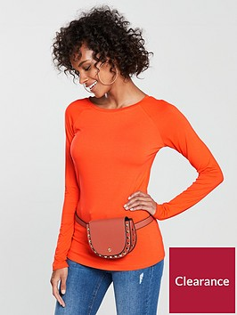 v-by-very-raglan-scoop-neck-top-orange