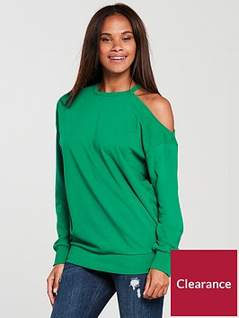 v-by-very-cold-shoulder-sweat-apple-green