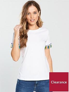 v-by-very-tassel-detail-t-shirt-white