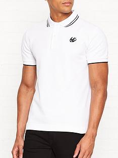 mcq-alexander-mcqueen-swallow-logo-polo-shirt-white