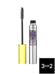 9adbd478804 MAYBELLINE Maybelline Colossal Big Shot Fibre Mascara Primer 01 Black
