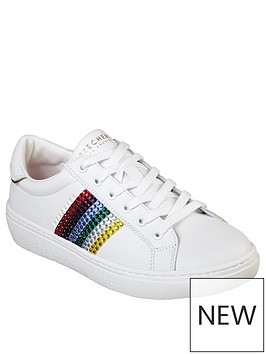 skechers-goldie-rainbow-rockers-trainer-white