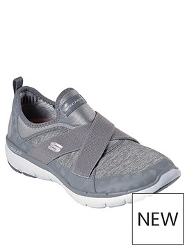 skechers-flex-appeal-30-trainer-grey
