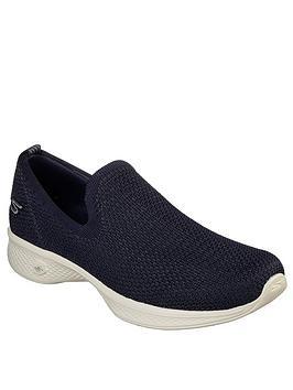 skechers-go-walk-4-seamless-flat-knit-slip-on-shoes-navy