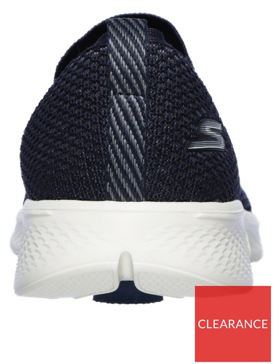 3fafd88ce443 ... Skechers Go Walk 4 Seamless Flat Knit Slip On Shoes - Navy. View larger