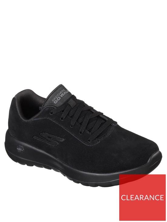 20d697de6a27 Skechers Lace Up GO Walk Joy Trainer - Black
