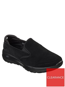 skechers-go-walk-joy-pump-trainers-black