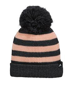 adidas-adidas-kids-fat-stripe-beanie-hat