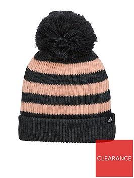 adidas-adidas-kids-fat-stripe-beanie-hat